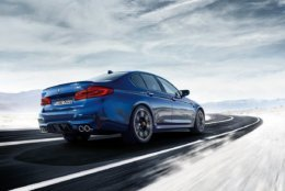 The BMW M5 is one of the contenders on Motor Trend's Best Driver's Car list. (Courtesy BMW)