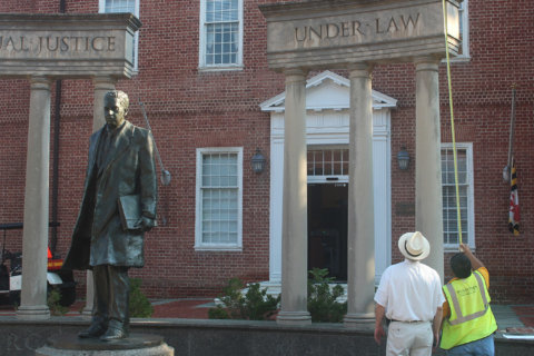 Repairs mean changes on Lawyers Mall in Annapolis