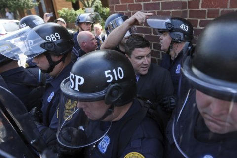 Virginia man convicted of punching rally organizer fined $1
