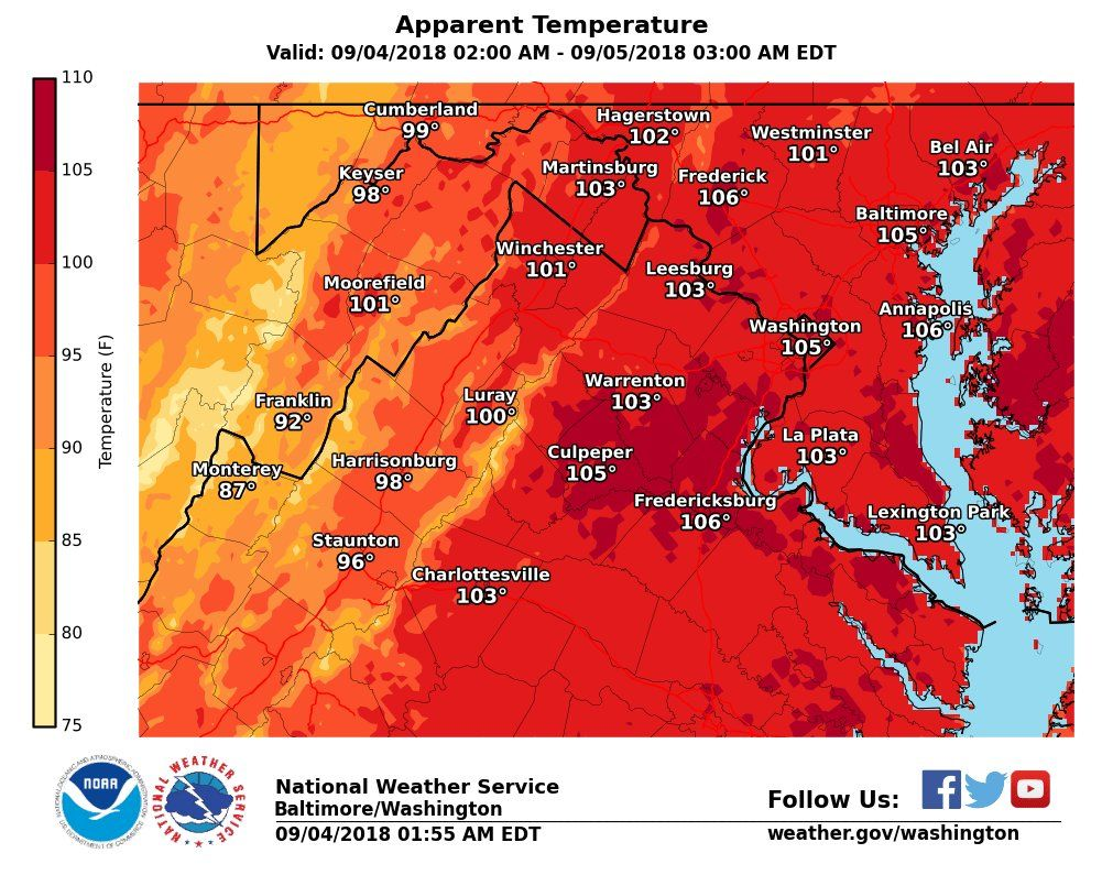 Heat Humidity Expected Through Workweek With Relief border=