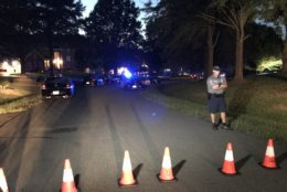 Three people were found dead in a Fairfax County home, police said Wednesday night. (WTOP/Michelle Basch)