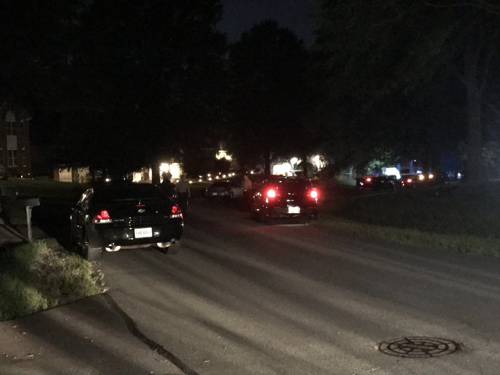 A woman and two juveniles were found dead in the 1000 block of Safa Street, Fairfax County police said. (WTOP/Michelle Basch)