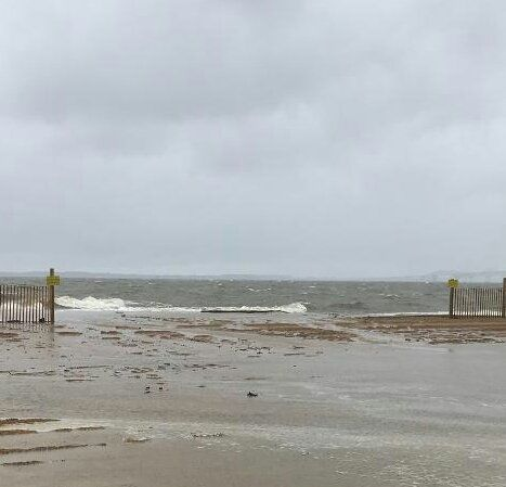 Swimming and other water activities ares strongly discouraged at Sandy Point State Park, said park officials. (Courtesy Sandy Point State Park)