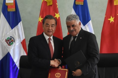 Chinese minister inaugurates embassy in Dominican Republic