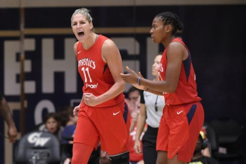 Alyssa Thomas leads Sun past Mystics in a WNBA opener