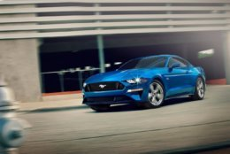 The Ford Mustang GT is one of the contenders on Motor Trend's Best Driver's Car list. (Courtesy Ford)