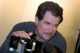 The mighty indie Don Coscarelli and his equally mighty camera. (Robert-Raphael/Silver Sphere Productions)