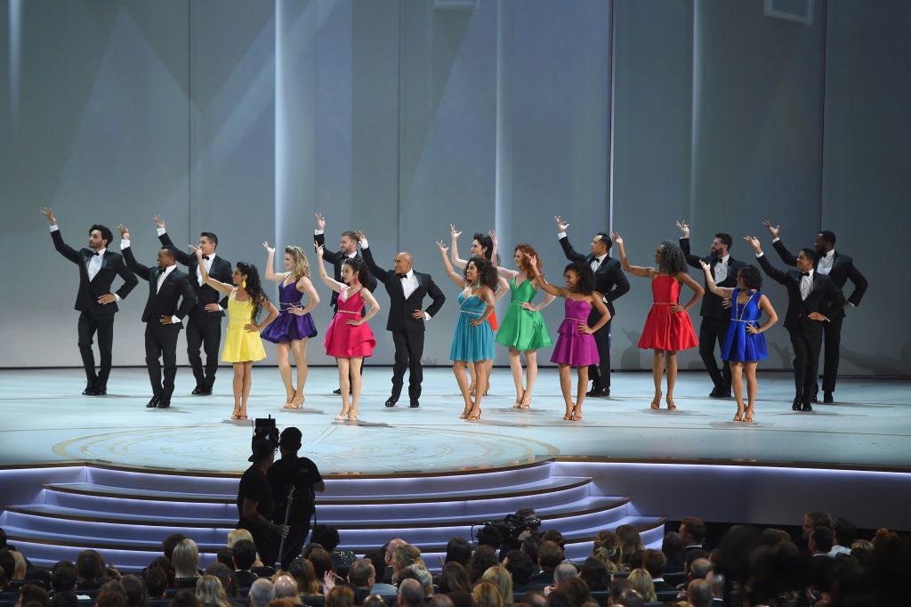 LOS ANGELES, CA - SEPTEMBER 17:  Dancers perform onstage during the 70th Emmy Awards at Microsoft Theater on September 17, 2018 in Los Angeles, California.  (Photo by Kevin Winter/Getty Images)