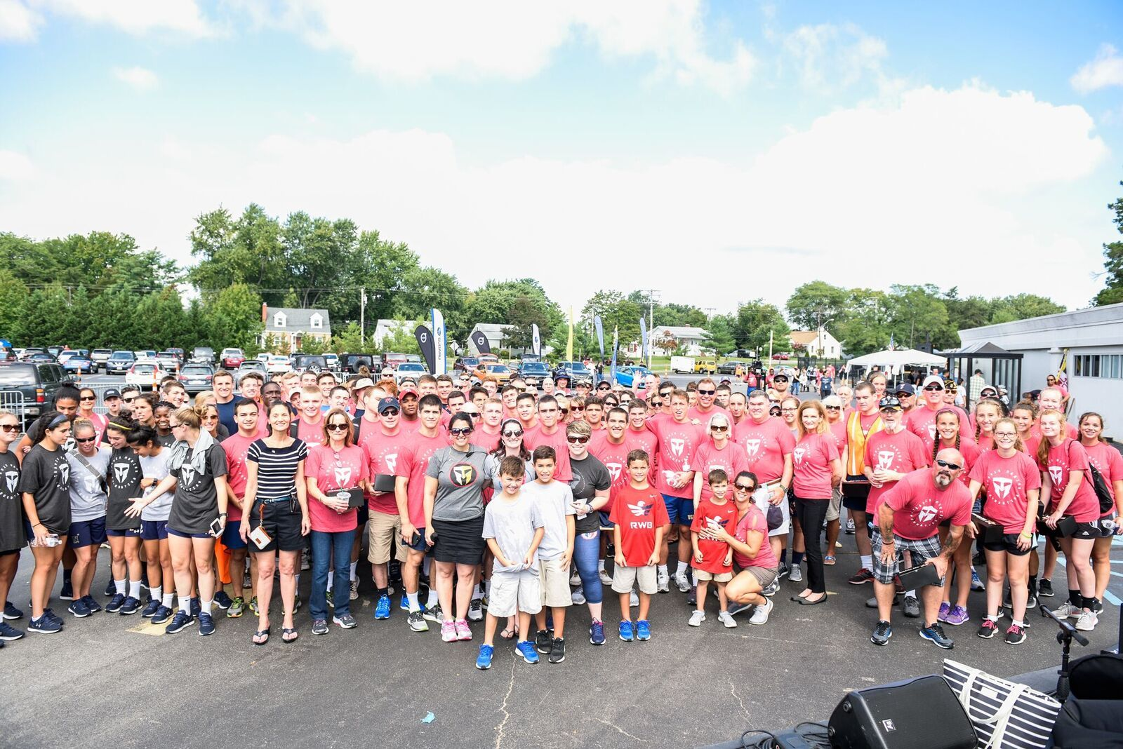 Members of the Annapolis 9/11 Heroes Run Volunteer Brigade in 2017. (Courtesy Megan Evans Photography)