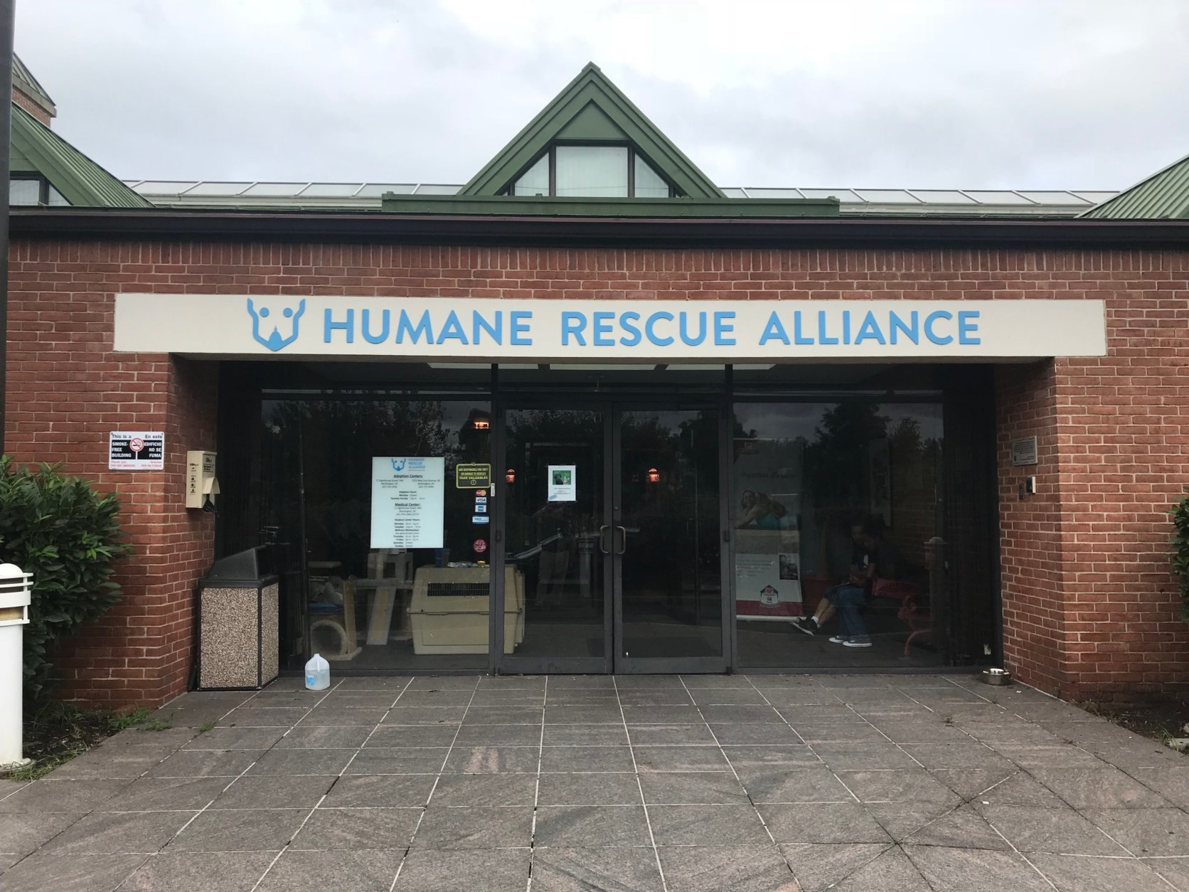 Have you been thinking about expanding your family? The Humane Rescue Alliance in D.C. is urging people looking for pets to adopt from their shelters in order to make room for more animals coming in after evacuations due to Tropical Storm Florence. (WTOP/Dick Uliano)