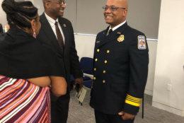 County Executive Bryan Hill  and Chief John Butler (Courtesy/Max Smith)