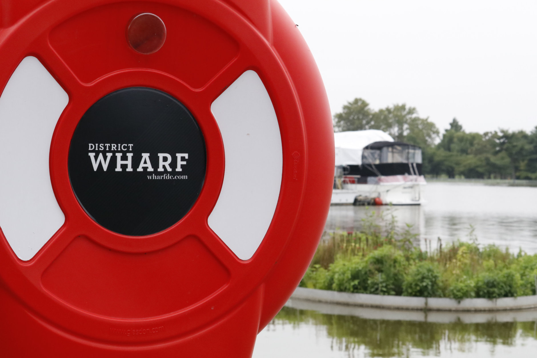 With businesses at the D.C.'s Wharf ready to mark a first year anniversary, owners and managers are getting ready for Hurricane Florence and the possible damage from flooding. (WTOP/Kate Ryan)