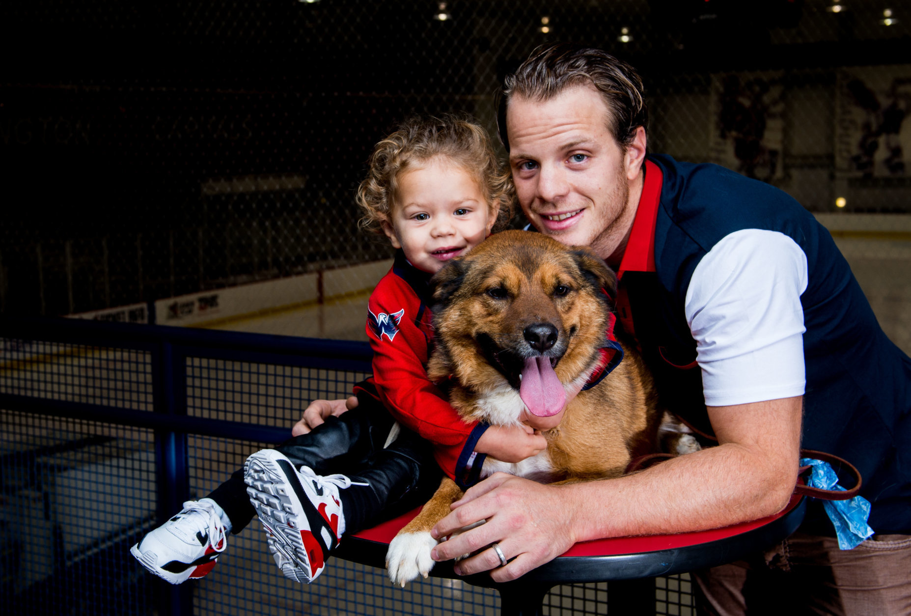 Here's the Capitals' John Carlson. (Courtesy Humane Rescue Alliance)