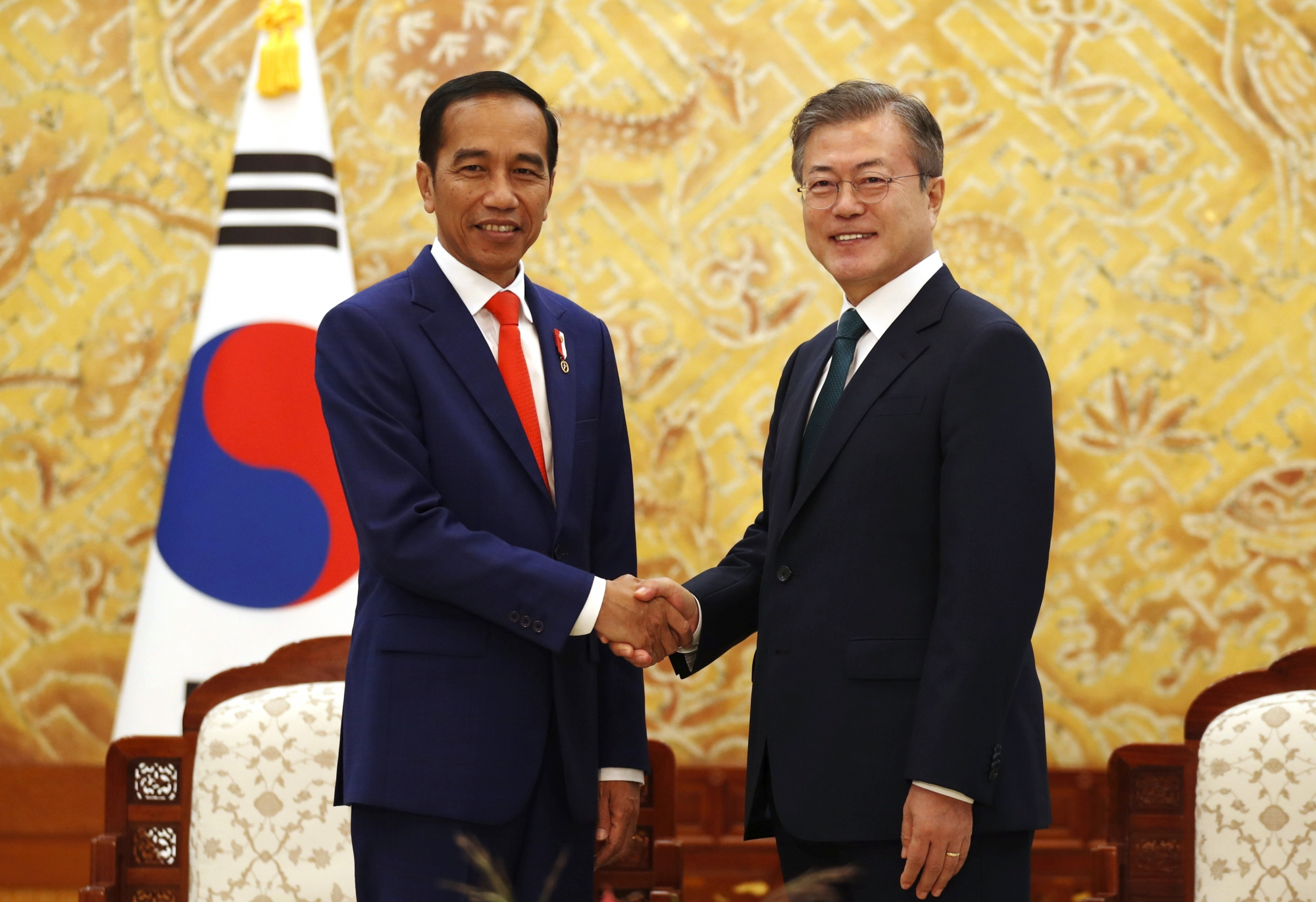S. Korea's Moon asks Indonesia's help for inter-Korea peace