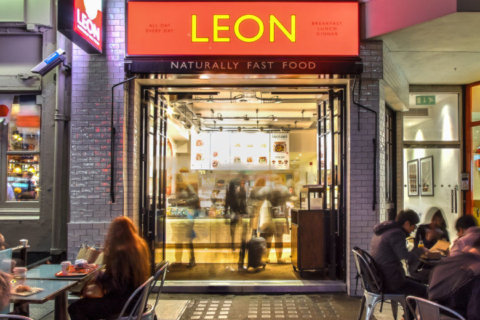 Want 'gut-friendly' fast food? LEON opens first US restaurant in DC