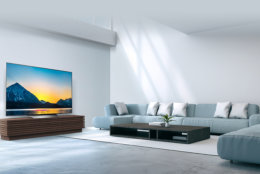 """$$$ - The LG OLED B8 series 65-inch costs about $2,800.  """"It's just a wonderful TV at the top of our ratings,"""" Wilcox said.  (Courtesy LG)"""