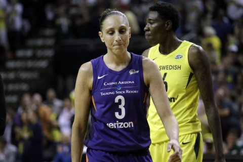 Mercury star Taurasi likely out 12 weeks after back surgery