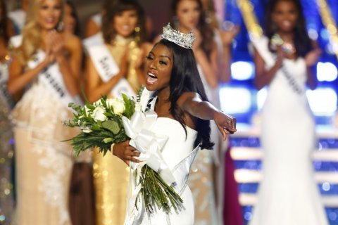 New Miss America glad she didn't have to don swimsuit to win