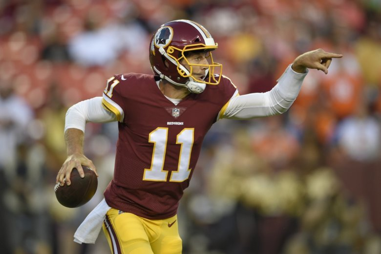 Image result for alex smith washington redskins
