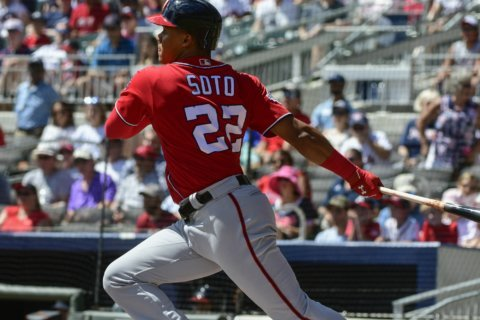Nationals OF Juan Soto finishes second in NL Rookie of the Year vote