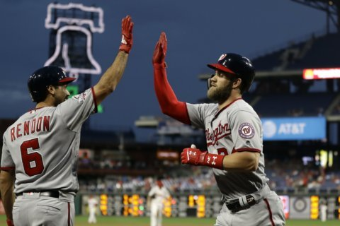 DC, Philly police 'duel' over Bryce Harper