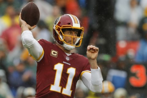 Redskins QB Alex Smith on playing again: 'That's the plan'