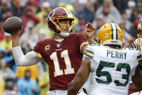 Redskins start fast; hold off Rodgers and Packers 31-17