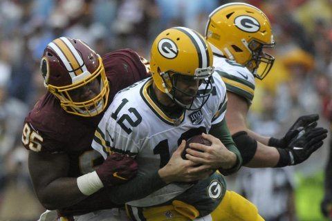 Plenty of playing time for Redskins' young defensive line