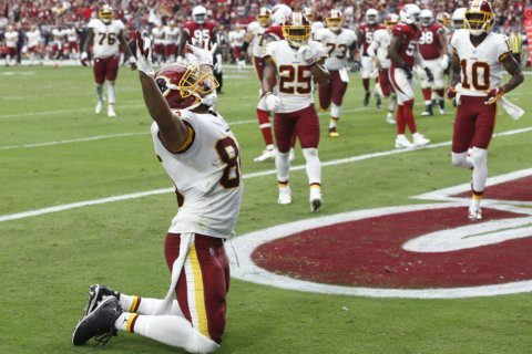 Redskins establish the run, dominate Cardinals 24-6