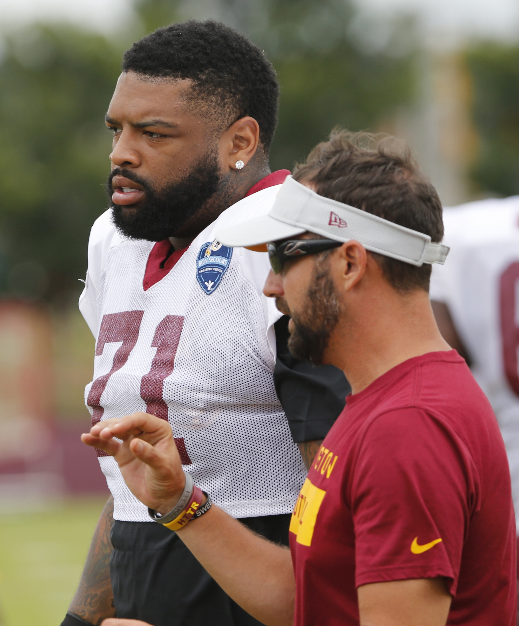 Redskins' Williams poised to again be fearsome O-lineman