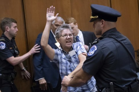 Shout, arrest, repeat: Inside the Kavanaugh hearing protests
