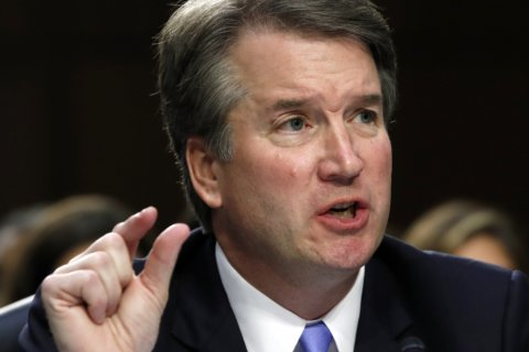 The Latest: FBI confirms it received Kavanaugh information