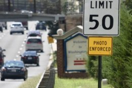 It may seem like some speed cameras have disappeared, but they've really been upgraded. (WTOP/Dave Dildine)