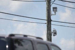These new speed cameras sport high-resolution photos up to 29 megapixels, high-definition video, three-dimensional radar, 4G LTE wireless capability and variable flash output. (WTOP/Dave Dildine)