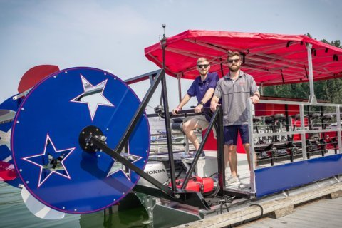 DC paddle boat bar set to launch on the Potomac next month