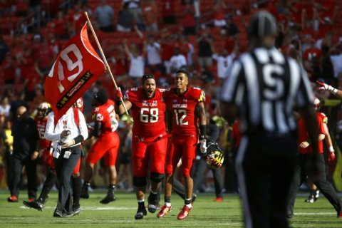 Maryland players will continue to honor McNair this season