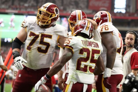 Chris Thompson's trust in Jay Gruden began after wanting gone from Redskins