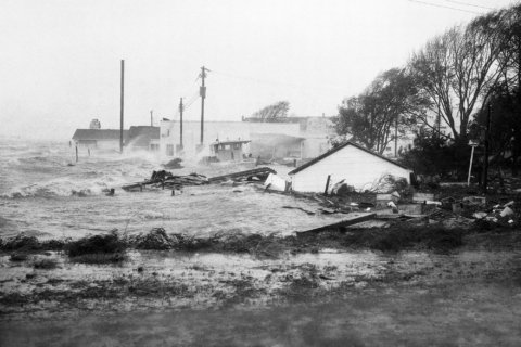 Florence could rival North Carolina's 1954 'benchmark storm'