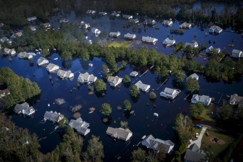 Hurricane Florence's toll on US homes and businesses has now hit 11 figures