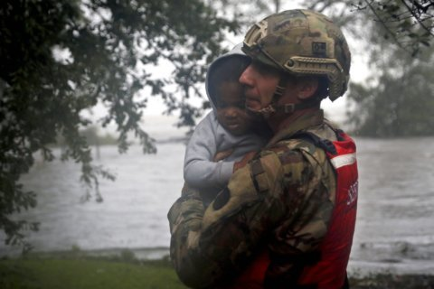 The Latest: Florence forecast to bring on new river flooding