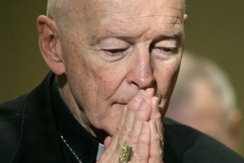 Amid abuse allegations, former Washington archbishop now living in Kansas friary
