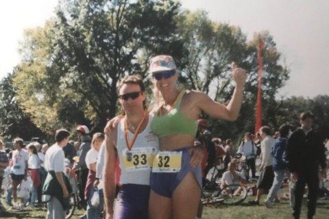Marine veteran and grandmother returns to Marine Corps Marathon after 22 years