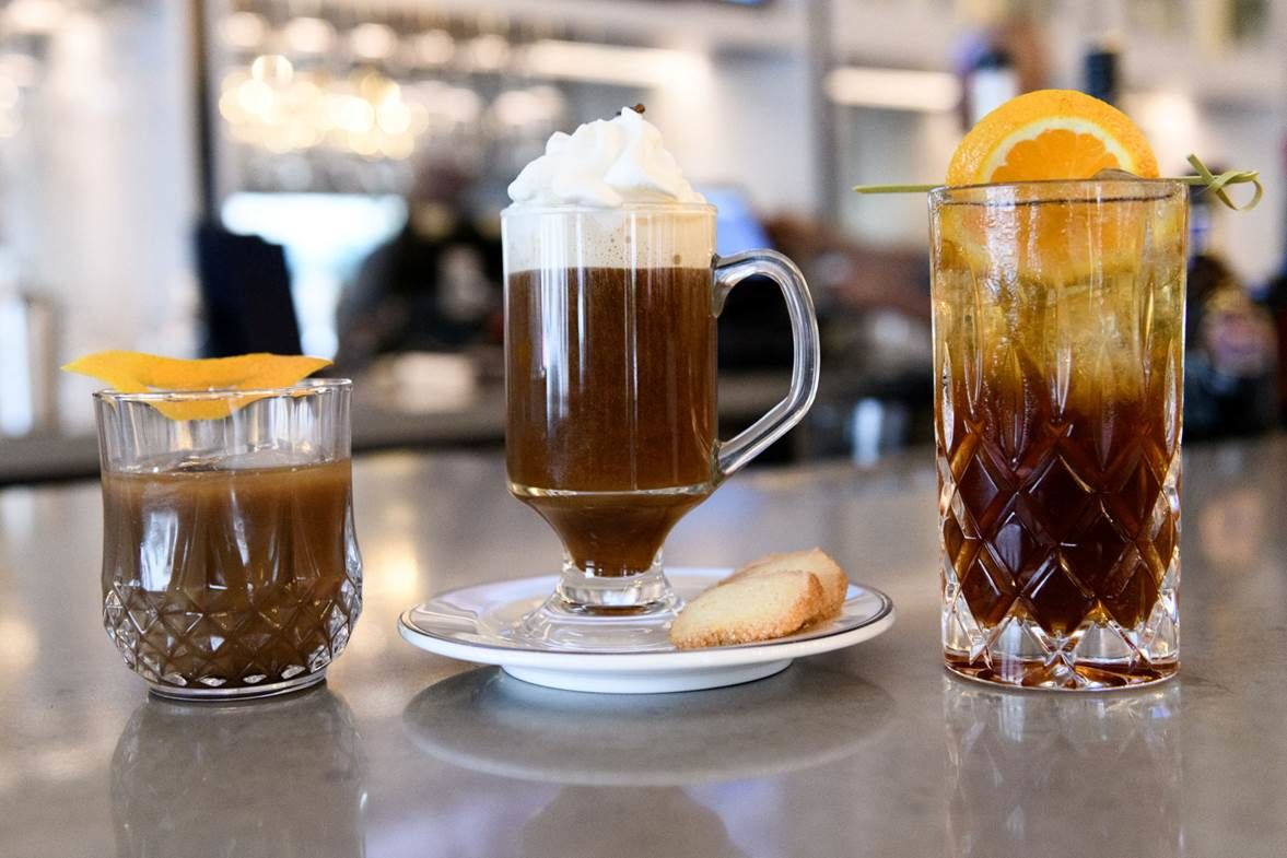 Opaline Bar and Brasserie is putting a little spirit in National Coffee Day with its new line of coffee cocktails. The cocktails, ranging from $12-$14, will be available starting Saturday and every Sunday thereafter on the new brunch menu. (Courtesy Karlin Vilando Photography)