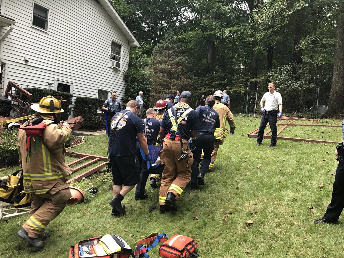 "Howard County officials called the incident a ""mass causality incident,"" which they said ""simply means the # of patients exceeds what can be managed by 1st arriving resources"" on Twitter. (Courtesy Howard County Fire and EMS)"