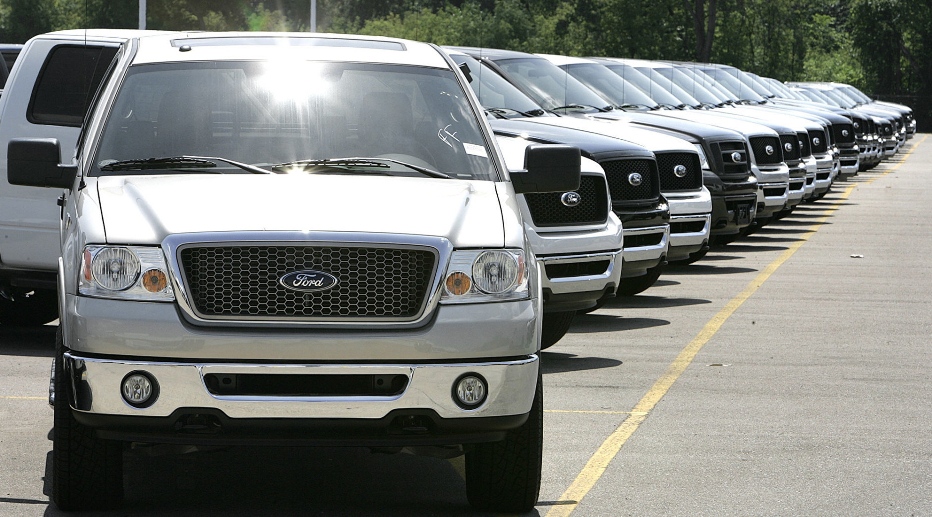 The Ford Pickup truck saw 35,105 thefts overall last year. (AP Photo/Paul Sancya, file)