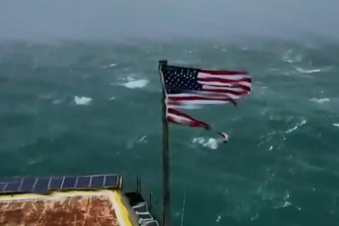 Hurricane Florence drops to Category 1; storm surge, wind mark Carolina coast