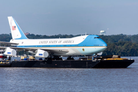 'Air Force One Experience' at National Harbor gives glimpse into presidential travel
