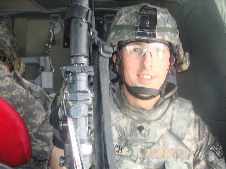 Richard Kutch became an Army medic and served in Afghanistan. (Courtesy Carina Kutch)