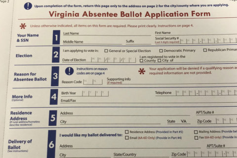 Absentee voting in Va. starts Friday and could change Northern Virginia