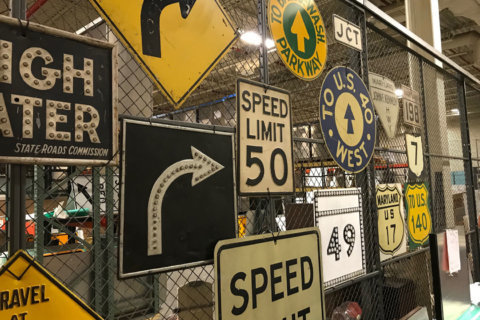 Ever wonder how DC-area road signs are made? Yeah, we did too